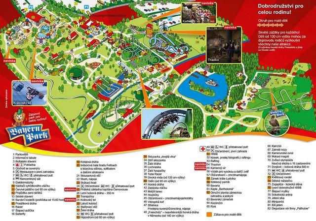 bayern-park-mapa